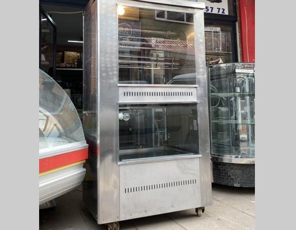 ucuz piliç çevirme makinesi spot 25 tavuk kapasiteli