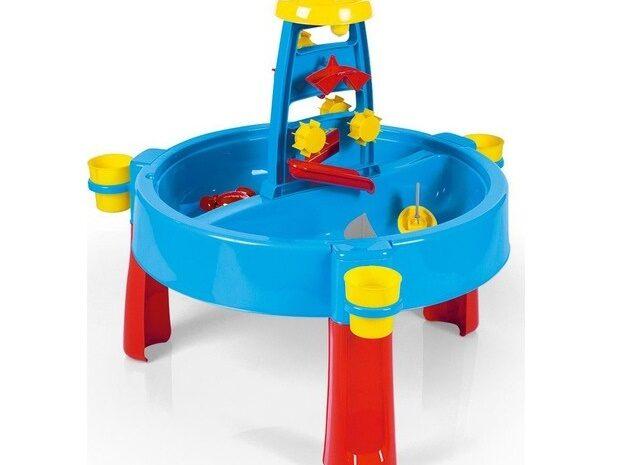 bebekler çocuklar için ikinci el sağlam durumda dolu su ve kum aktivite masası